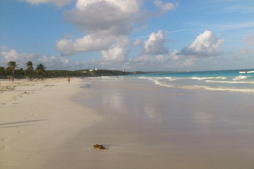 En af Mexicos smukke strande