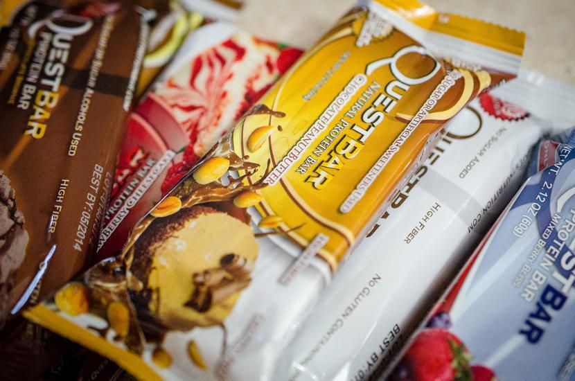 Lækre proteinbarer stiller sulten