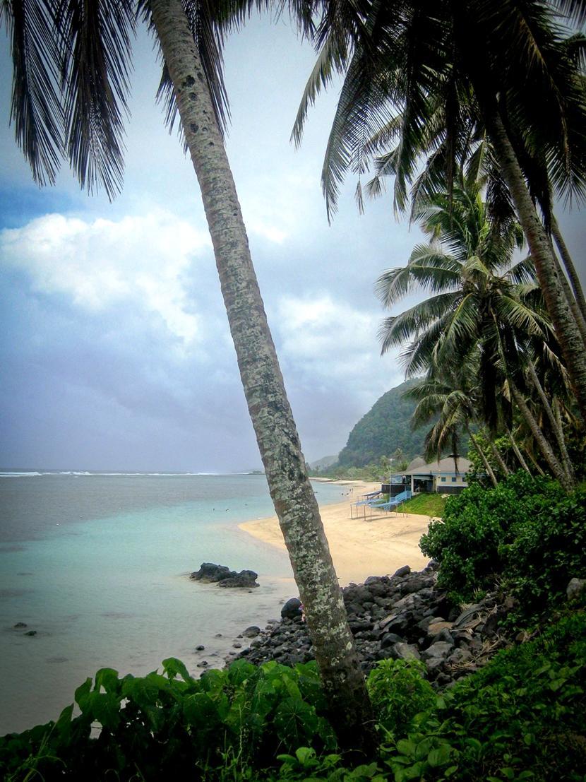 Der er mange paradisstrande i Samoa