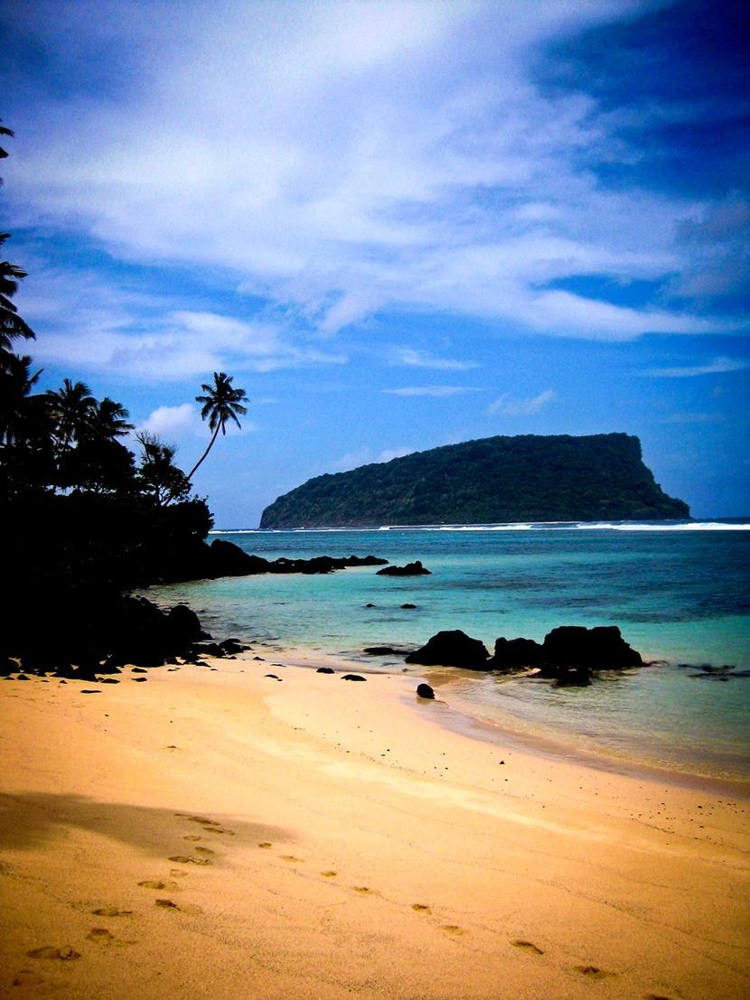 Samoa har uendeligt mange smukke strande