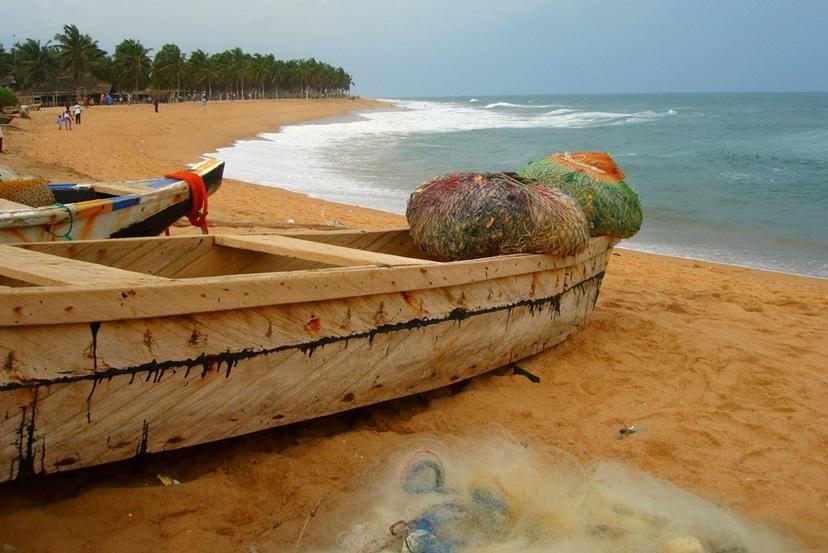 Togo har mange flotte strande