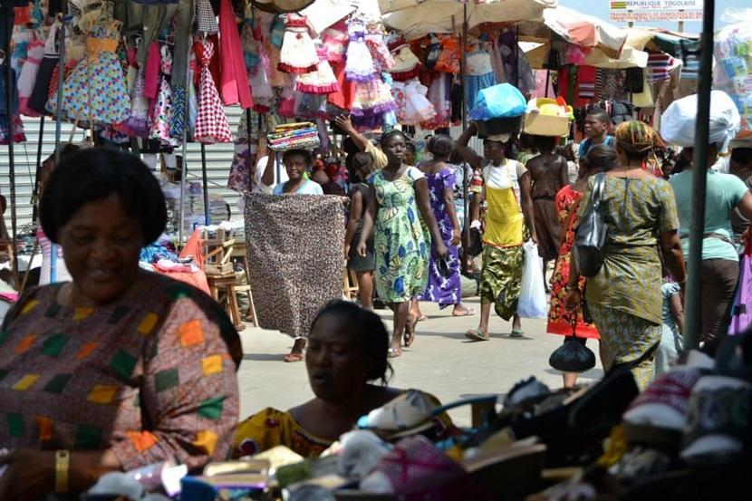 Lokalt marked i Togo