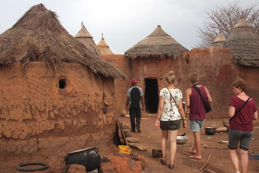mudderhytter i Togo