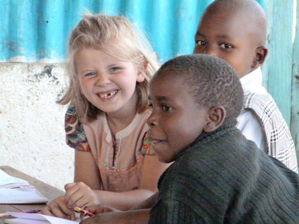 Frivilligrejser for børnefamilier