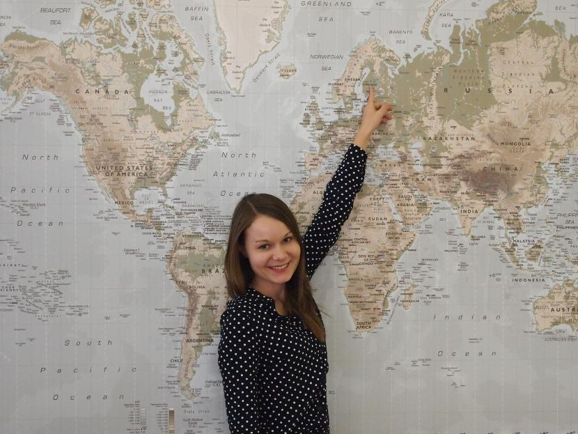 Projects Abroad Suomen Program Advisor Kaisa Partanen