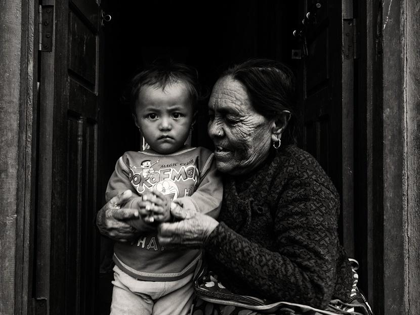 Nonna nipote bandipur