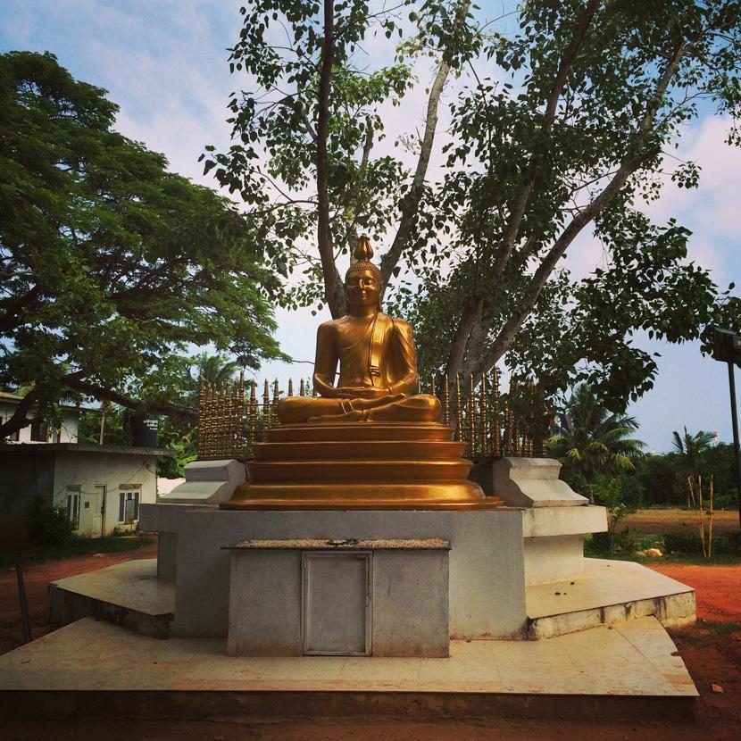 Statua di Buddha in Sri Lanka