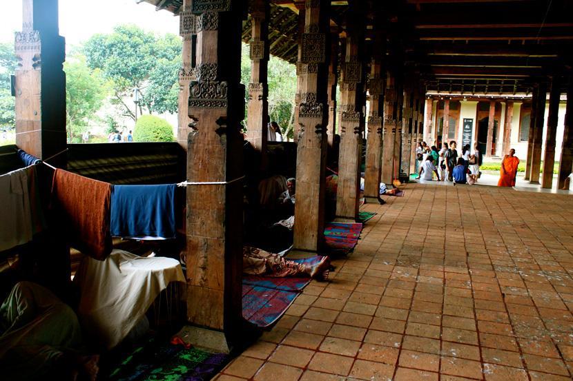 Porticato in legno, Sri Lanka