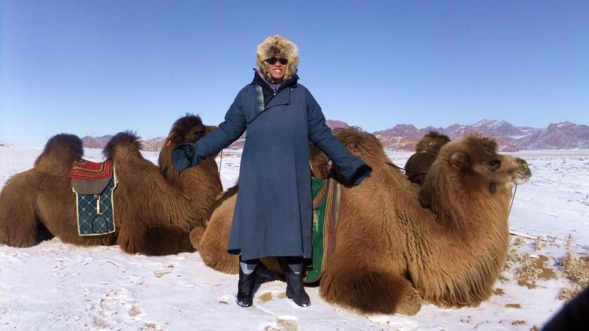 Un volontario del progetto nomadi in Mongolia