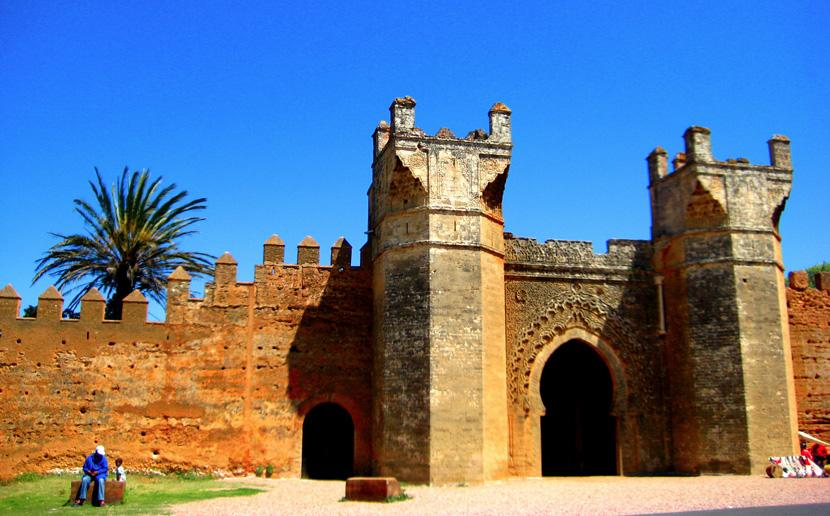 モロッコで見られる旧市街の入口