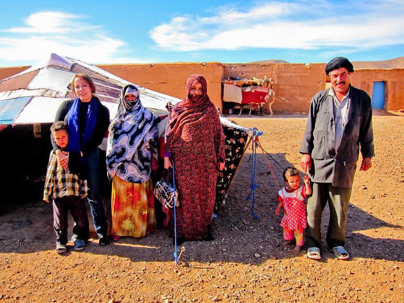 サハラ砂漠に暮らす人々
