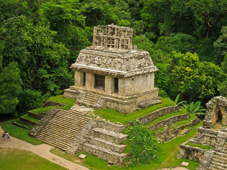 Mayan ruin in Palenque