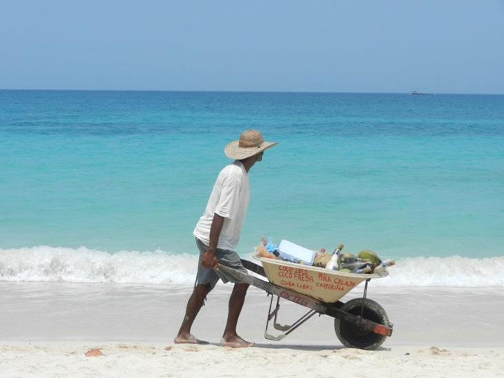 Local on the beach