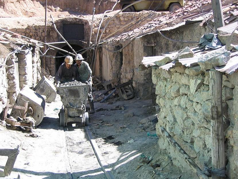 Silver mines in Potosí