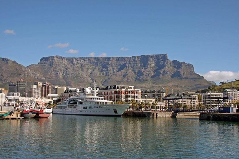 Scenery in Cape Town