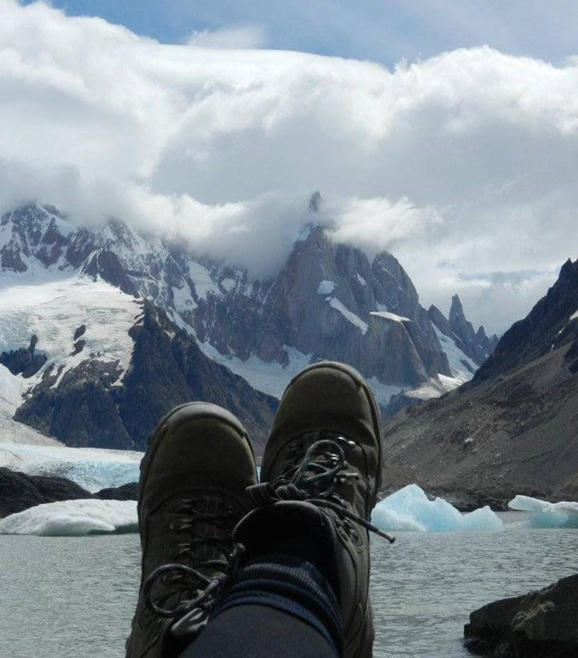 Chilling amongst the glaciers
