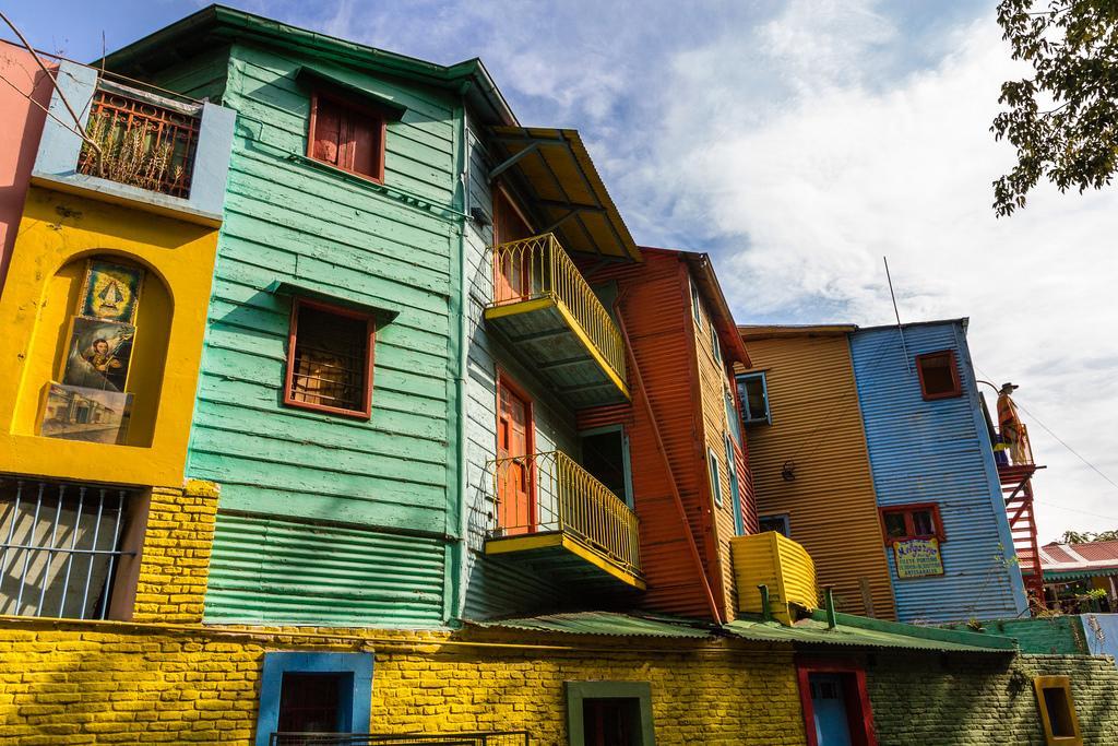 La Boca district in Buenos Aires