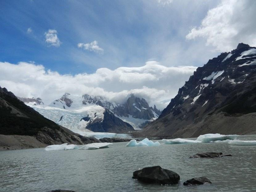 The view at Cerro Torre