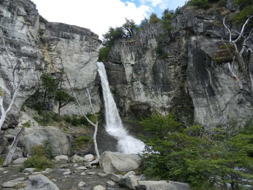Waterfall in Chalten National Park