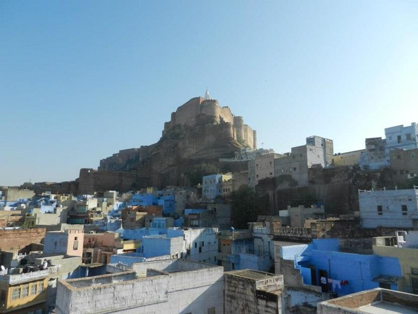 The Mehrangarh Fort in Jodhpur