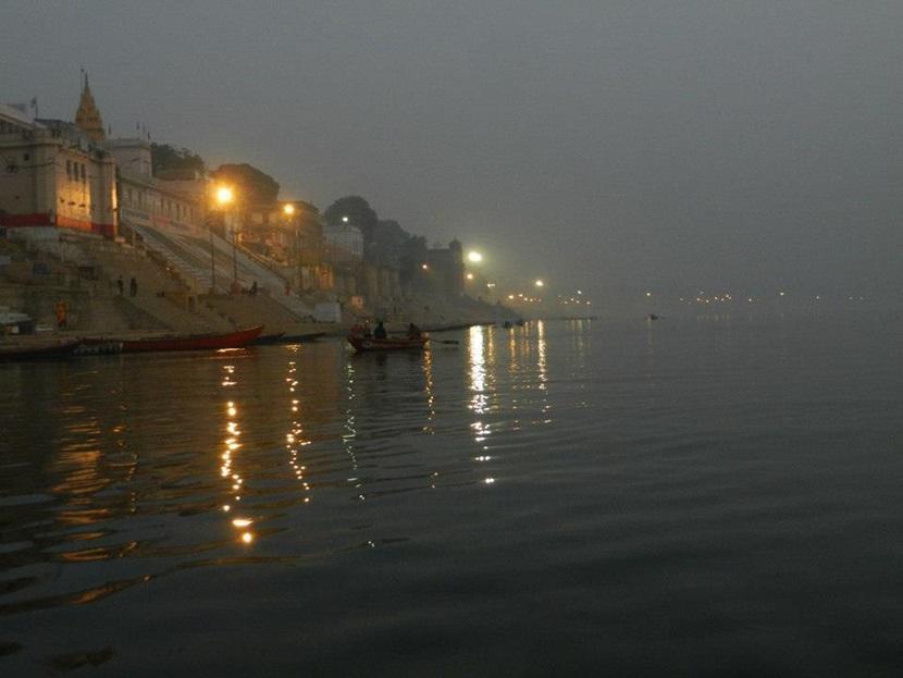 Varanasi at sun rise