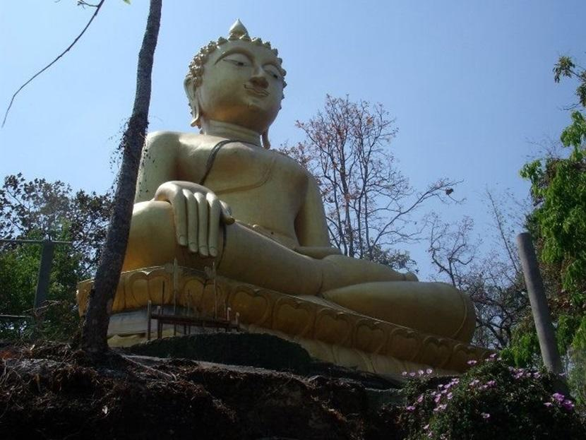 Buddhist statue in Thailand