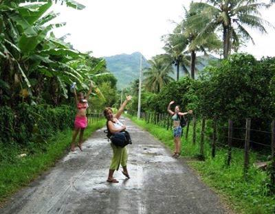 Backpacking in Belize