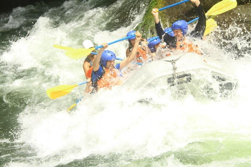 Rafting on the Pai River