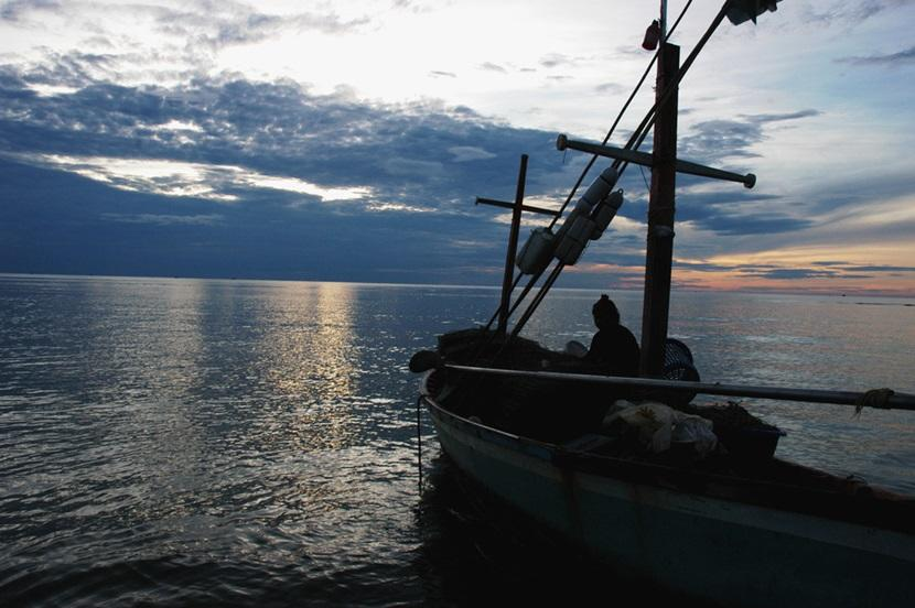 Fishing boat in Hua Hin