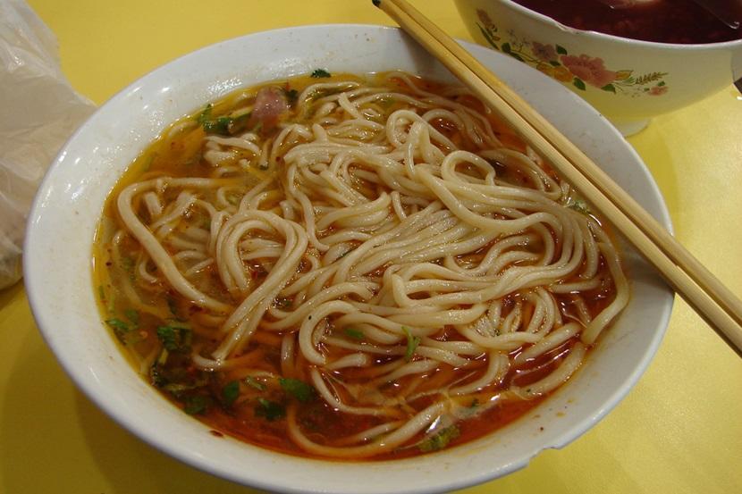Noodles in Chengdu