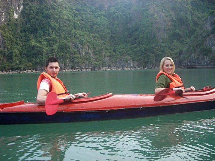 Exploring Halong Bay