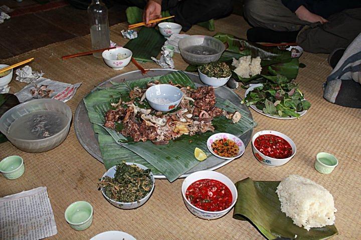 A Vietnamese feast