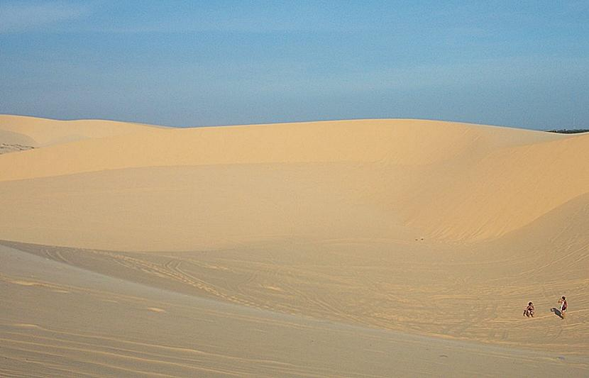 The white dunes in Mui Ne
