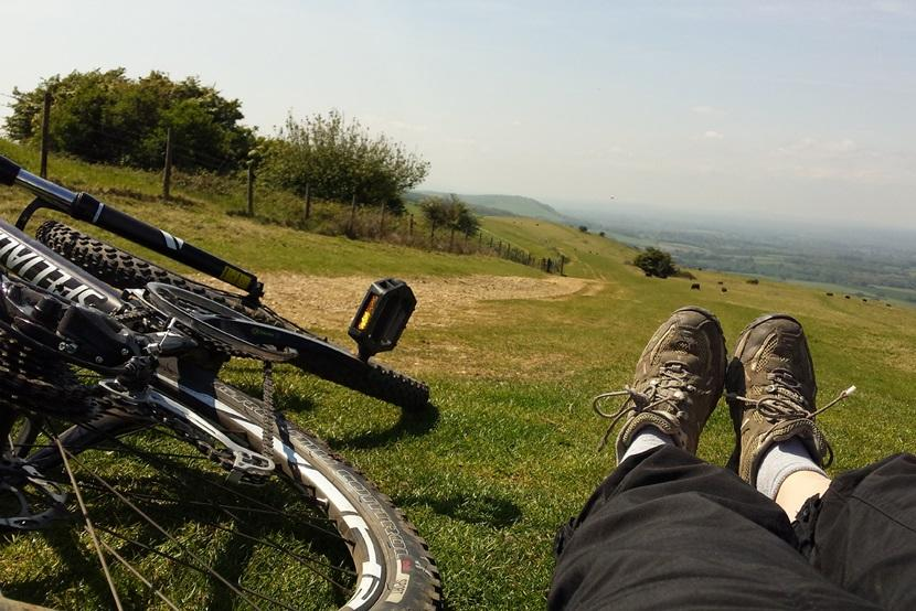 Enjoying the South Downs Way