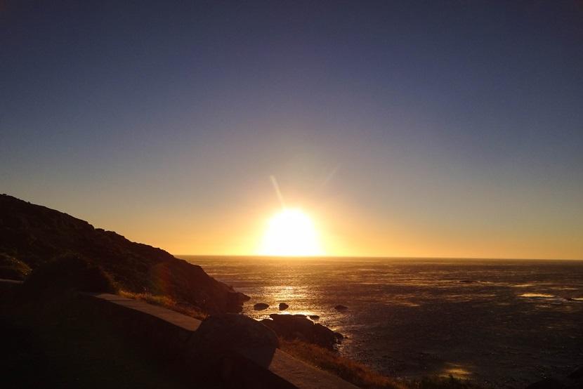 'Sunset from Oudekraal