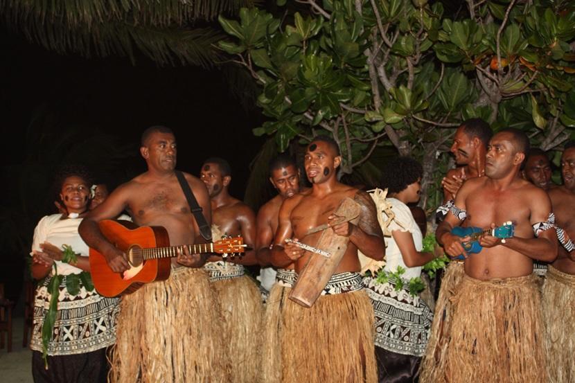 Traditional Fijian attire