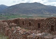 Udgravningssted i Peru