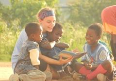 Frivillig på humanitært projekt i Ghana
