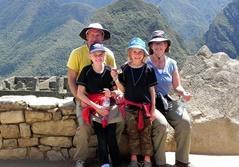 Dansk familie som frivillig i Peru