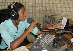 Intern on a Journalism project broadcasting a live radio show at a studio in Unquillo, Argentina