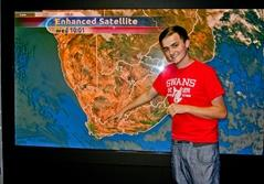 Praktikant på journalistikprojekt i Sydafrika