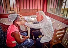 Frivillig læge i Ghana