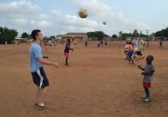 Frivillig på sportsprojekt i Ghana