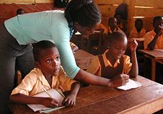 Undervisning - Primary School in Ghana