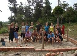 Cambodia volunteers
