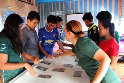 Conservation Work in Cambodia