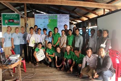 Volunteers in Cambodia