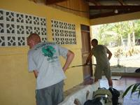 Painting Barra Honda school