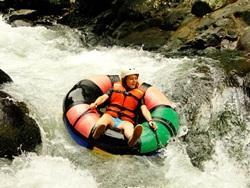 Volunteer tubing trip