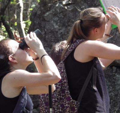 Projects Abroad volunteers working in Costa Rica